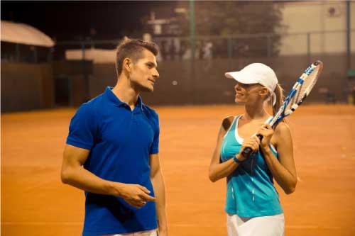 高級テニススクール